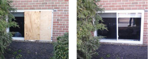 Basement Window Repair