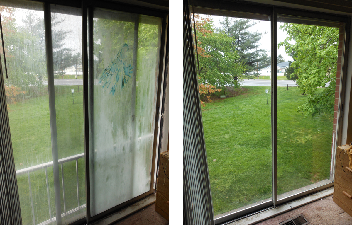 Replacement glass serving new hope and yardley pa for Sliding patio door replacement