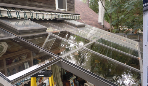 Sunroom glass replacement, sunroof glass repair